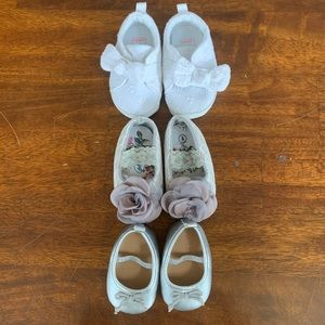 Other - LOT of 3 Baby Shoes